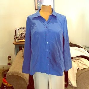 Lane Bryant button down blouse